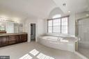 Master Bath - 7310 BEVERLY MANOR DR, ANNANDALE