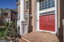 Welcoming Brick Porch - 7310 BEVERLY MANOR DR, ANNANDALE