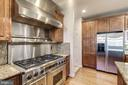 Stainless Appliances - Dacar 6-Burner Range - 7310 BEVERLY MANOR DR, ANNANDALE
