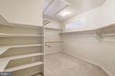 Master Suite Closet / Dressing Room - 7310 BEVERLY MANOR DR, ANNANDALE