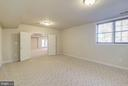 Bedroom #5 or Playroom / Billiards / Game /etc. - 7310 BEVERLY MANOR DR, ANNANDALE