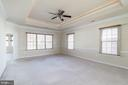 Master Bedroom Suite - Tray Ceiling - 7310 BEVERLY MANOR DR, ANNANDALE