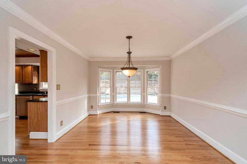 Formal dining room - 11801 DUCK CIR, SPOTSYLVANIA