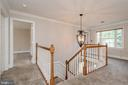 Second stair case to upper level - 11801 DUCK CIR, SPOTSYLVANIA