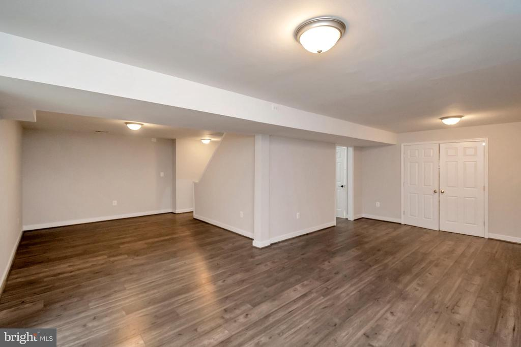 Large finished basement - 11801 DUCK CIR, SPOTSYLVANIA