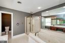Master bath with soaking tub - 11801 DUCK CIR, SPOTSYLVANIA