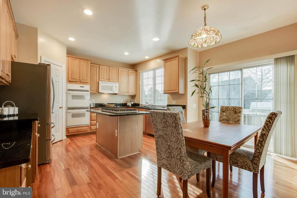 Spacious Kitchen with Breakfast Area - 25565 UPPER CLUBHOUSE DR, CHANTILLY