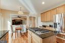 Fabulous Kitchen Open to Family Room - 25565 UPPER CLUBHOUSE DR, CHANTILLY
