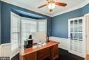 French Doors to Home Office - 25565 UPPER CLUBHOUSE DR, CHANTILLY