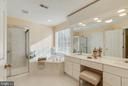 Luxury Master Bath to Unwind - 25565 UPPER CLUBHOUSE DR, CHANTILLY