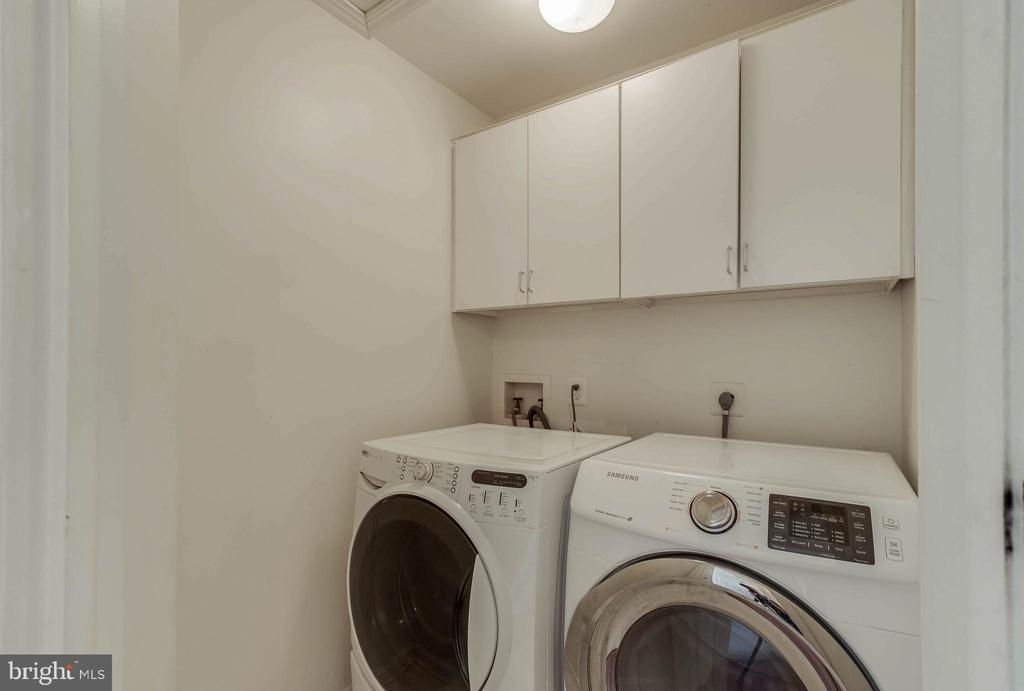 Laundry on Bedroom Level - 25565 UPPER CLUBHOUSE DR, CHANTILLY