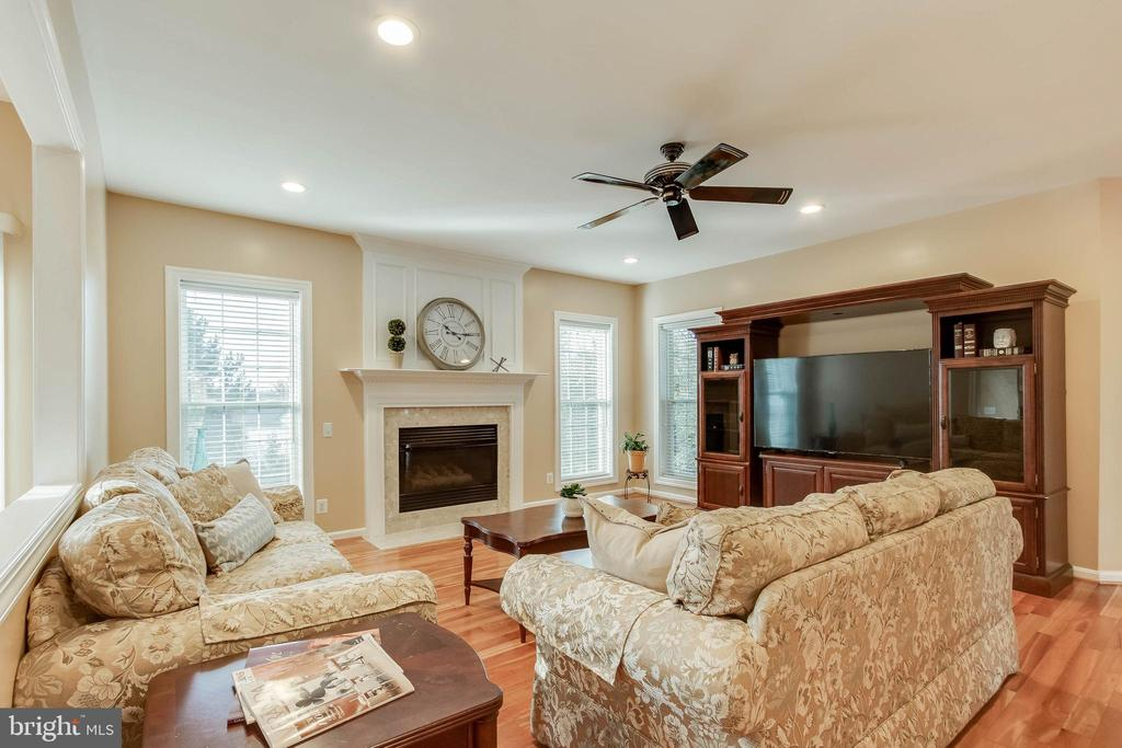 Sun Lit Family Room - 25565 UPPER CLUBHOUSE DR, CHANTILLY
