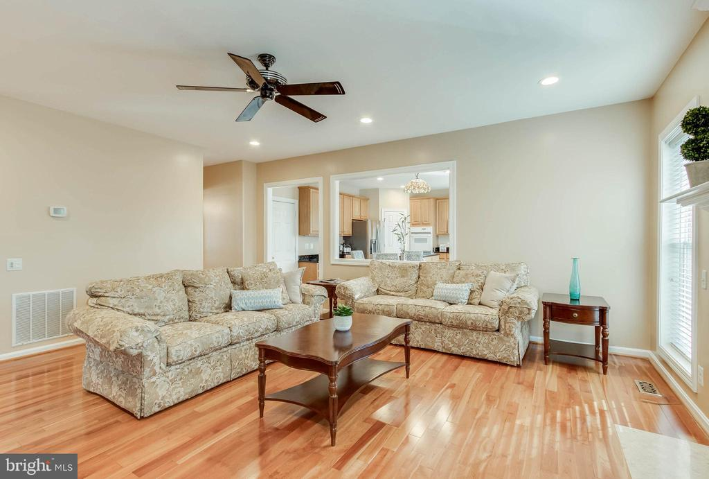 Recess Lighting and Ceiling Fan - 25565 UPPER CLUBHOUSE DR, CHANTILLY
