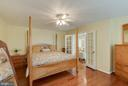 French Doors to Master Suite - 25565 UPPER CLUBHOUSE DR, CHANTILLY