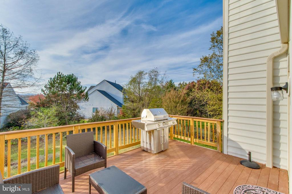View from Rear Deck - 25565 UPPER CLUBHOUSE DR, CHANTILLY