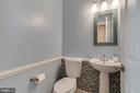 Updated Powder Room - 25565 UPPER CLUBHOUSE DR, CHANTILLY