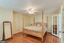 Spacious Master Suite - 25565 UPPER CLUBHOUSE DR, CHANTILLY
