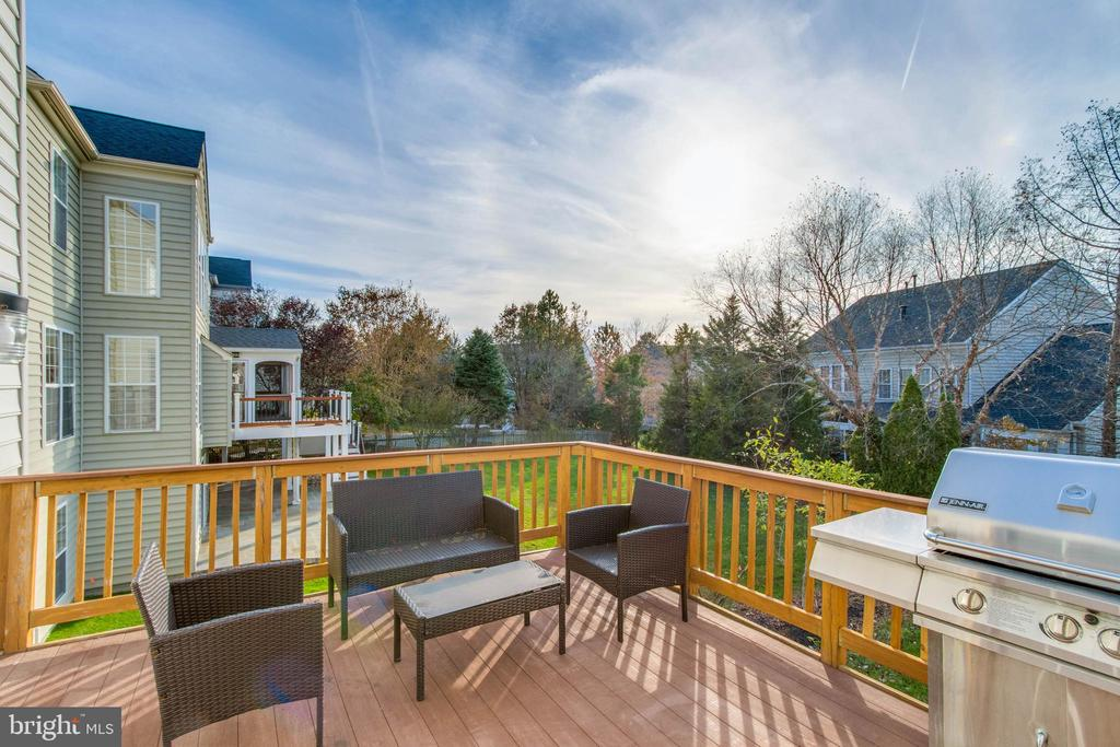Easy Maintenance Rear Deck - 25565 UPPER CLUBHOUSE DR, CHANTILLY
