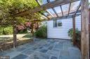 Slate patio - 4603 FRANKLIN ST, KENSINGTON