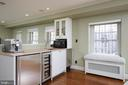 Main level wet bar. - 1719 19TH ST NW, WASHINGTON