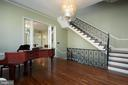 Gorgeous hardwood stairs w/ custom railings - 1719 19TH ST NW, WASHINGTON