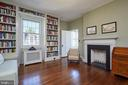 2nd bedroom on 3rd level w fireplace - 1719 19TH ST NW, WASHINGTON
