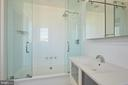 Top level full bathroom - 1719 19TH ST NW, WASHINGTON
