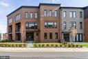 Transitional full brick front exterior - 23182 HAMPTON OAK TER, ASHBURN