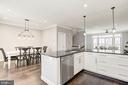 Wide Open Kitchen for Entertaining - 19282 WINMEADE DR, LEESBURG