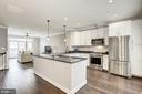 Contemporary Kitchen - 19282 WINMEADE DR, LEESBURG