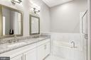 Owner's Bath with the Finest Finishes - 19282 WINMEADE DR, LEESBURG