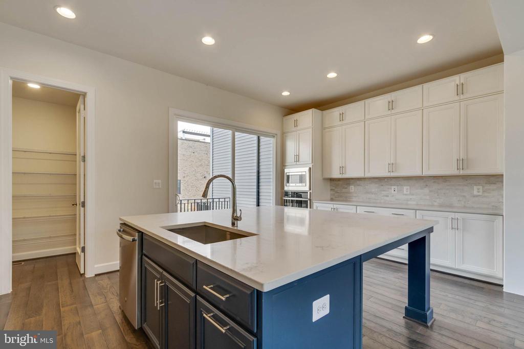 Huge kitchen pantry - 23182 HAMPTON OAK TER, ASHBURN