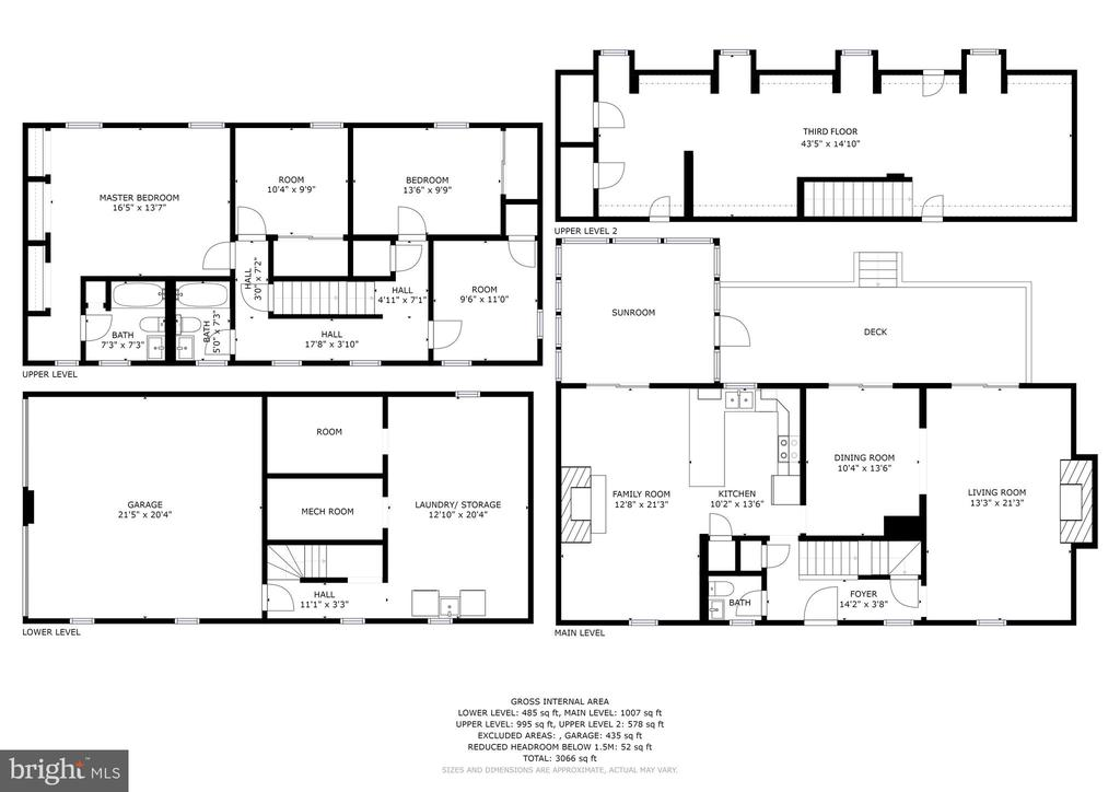 Floor Plan - 1409 BAY HEAD RD, ANNAPOLIS