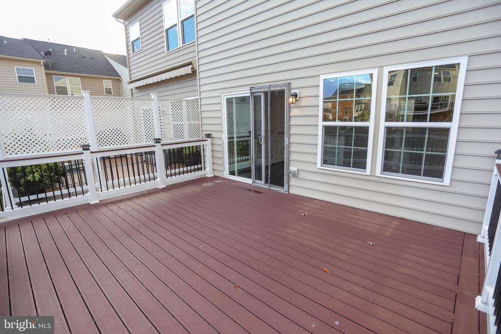 Details about deck in comments - 22862 LACEY OAK TER, STERLING