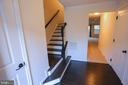 Entrance with Mudroom area/along with closet space - 22862 LACEY OAK TER, STERLING