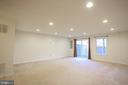 Lower Level with walk out - 22862 LACEY OAK TER, STERLING