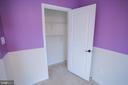 2nd Bedroom closet - 22862 LACEY OAK TER, STERLING