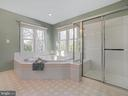 Large Master Bath - 311 GREAT FALLS RD, ROCKVILLE