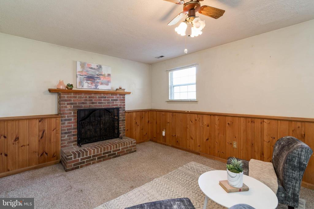 Lower level family room - 85 VISTA WOODS RD, STAFFORD