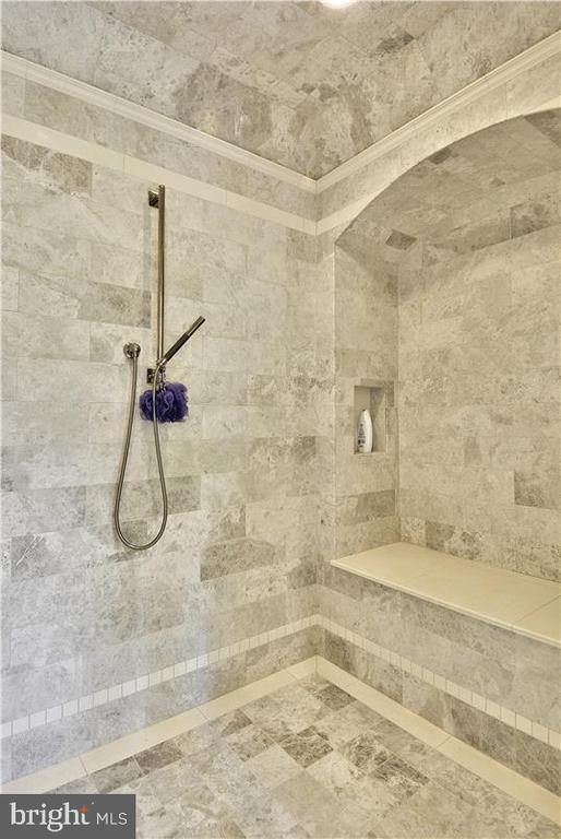 Computerized shower in MBR - 1070 VISTA DR, MCLEAN