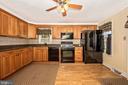 County Kitchen with Granite Countertops - 6500 MOUNTAIN CHURCH RD, JEFFERSON
