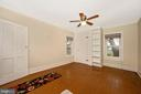 Large Bedroom #2 with Bookshelves - 6500 MOUNTAIN CHURCH RD, JEFFERSON