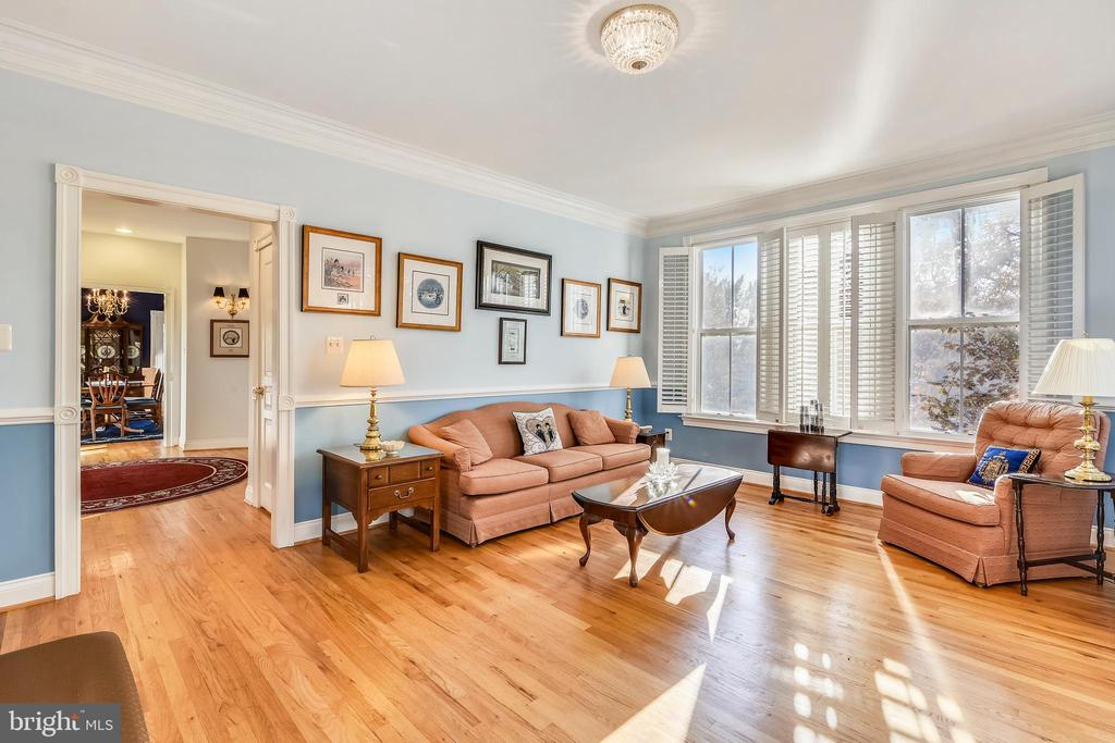 Quaint and Welcoming Living Room - 916 MONROE ST, HERNDON