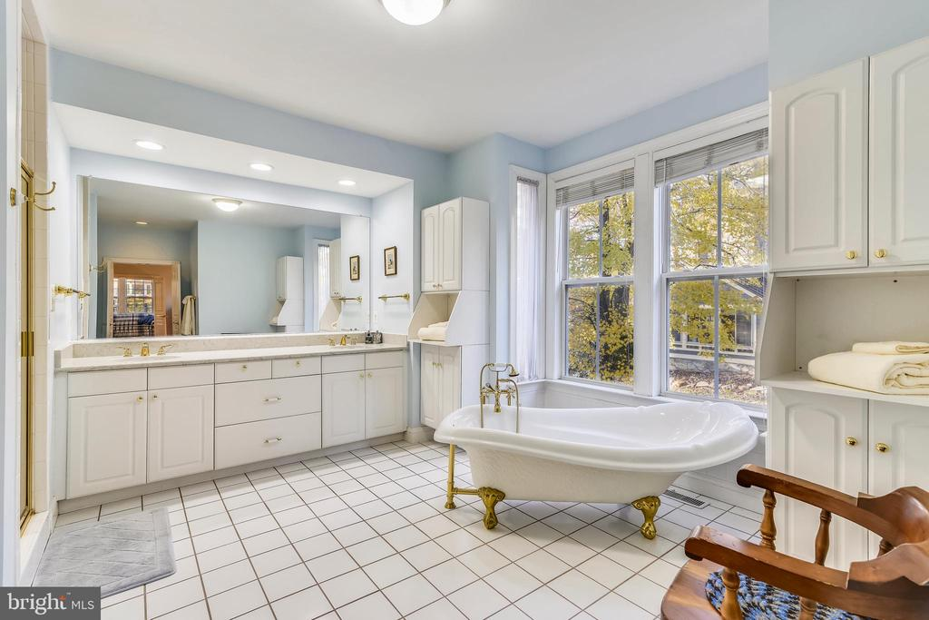 Very Spacious Master Bath with Quartz Counters - 916 MONROE ST, HERNDON