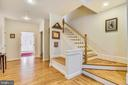 Note the Hall Bench and wide Stairways - 916 MONROE ST, HERNDON