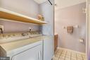 2nd Level Laundry combined with the Hall Bath - 916 MONROE ST, HERNDON