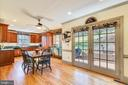 French doors that lead to rear patio & garden! - 669 APPLE PIE RIDGE RD, WINCHESTER