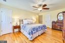 Good size Master Bedroom - 669 APPLE PIE RIDGE RD, WINCHESTER