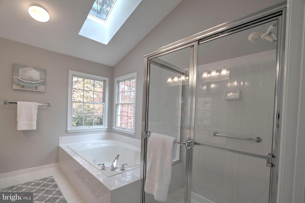 Separate Shower and Bath Plus Skylight - 12424 SILENT WOLF DR, MANASSAS