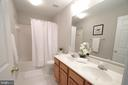 Hall Bath Has 2 Sinks Also! - 12424 SILENT WOLF DR, MANASSAS